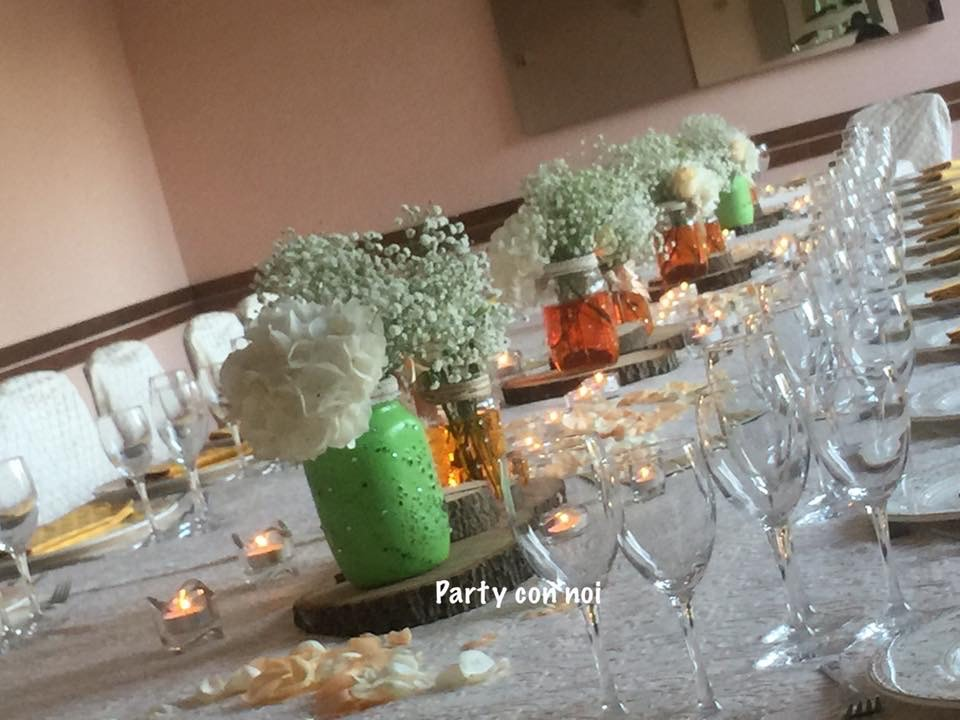 allestimento tavoli invitati matrimonio