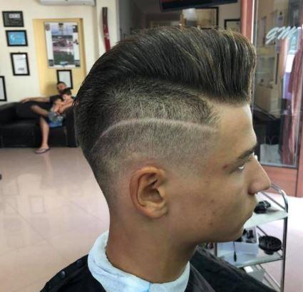 Rasatura laterale capelli