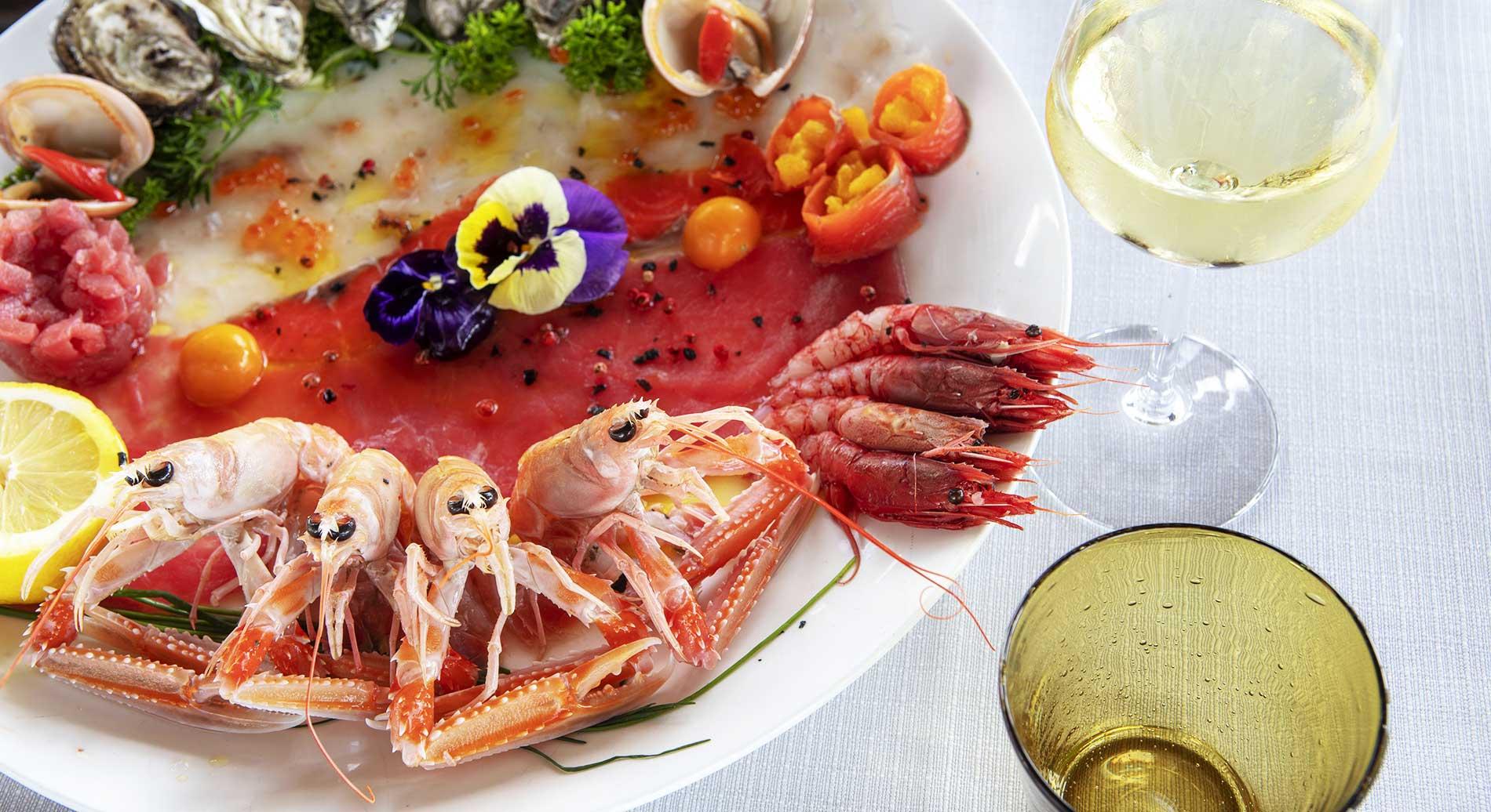 specialità crudi di pesce santa marinella