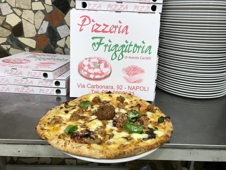 pizza cotta a legna napoli centro