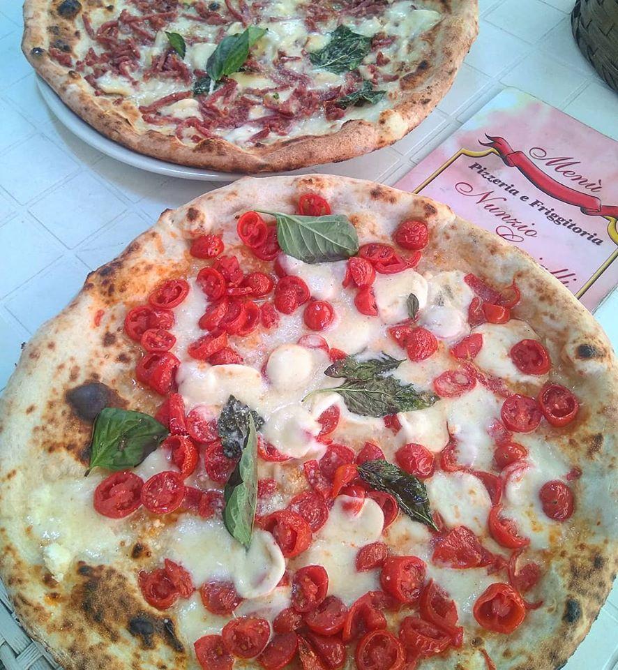 menù pizza napoli