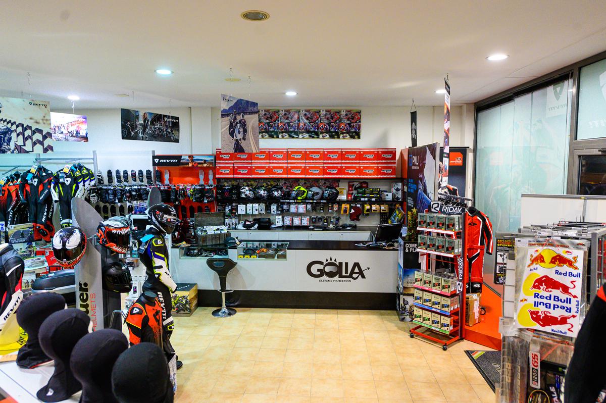 Golia è lo Store per i motociclisti