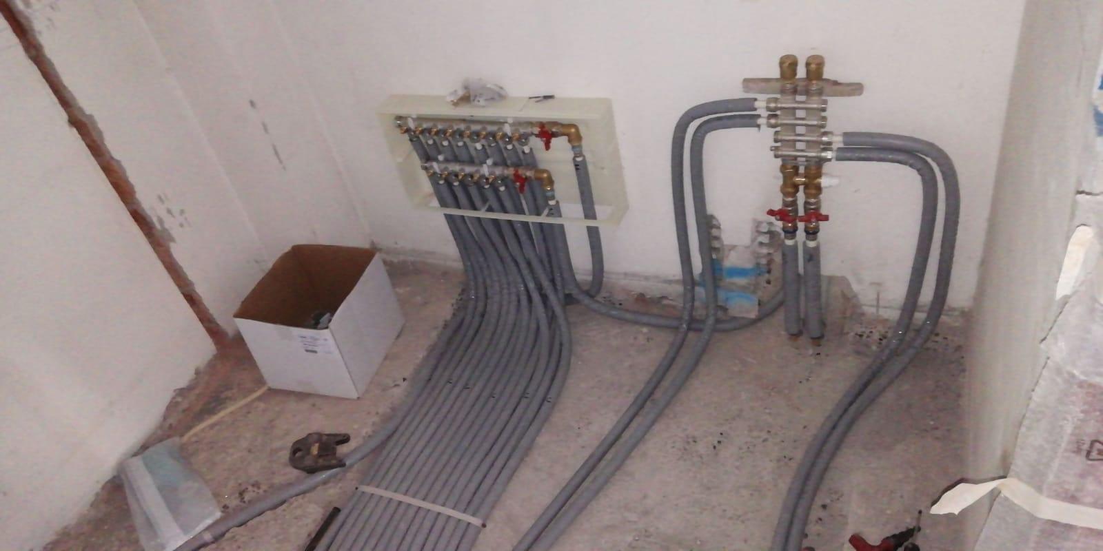 Lavori idraulici ed elettrici FLO Edilizia Generale e Ponteggi