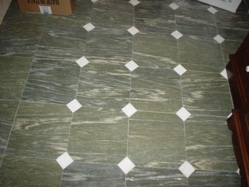 Pavimento marmo con rombi lavorazioni e realizzazioni in marmo Manduria Taranto Emme Marmi Srl