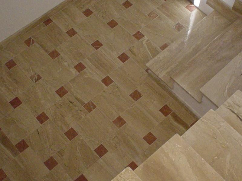 Scala interna lavorazioni e realizzazioni in marmo Manduria Taranto Emme Marmi Srl