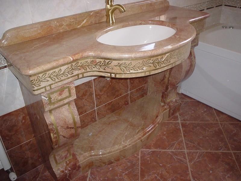 Lavandino lavorazioni e realizzazioni in marmo Manduria Taranto Emme Marmi Srl