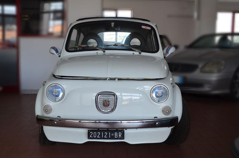 Cinquecento bianca auto d'epoca Auto Mimmo