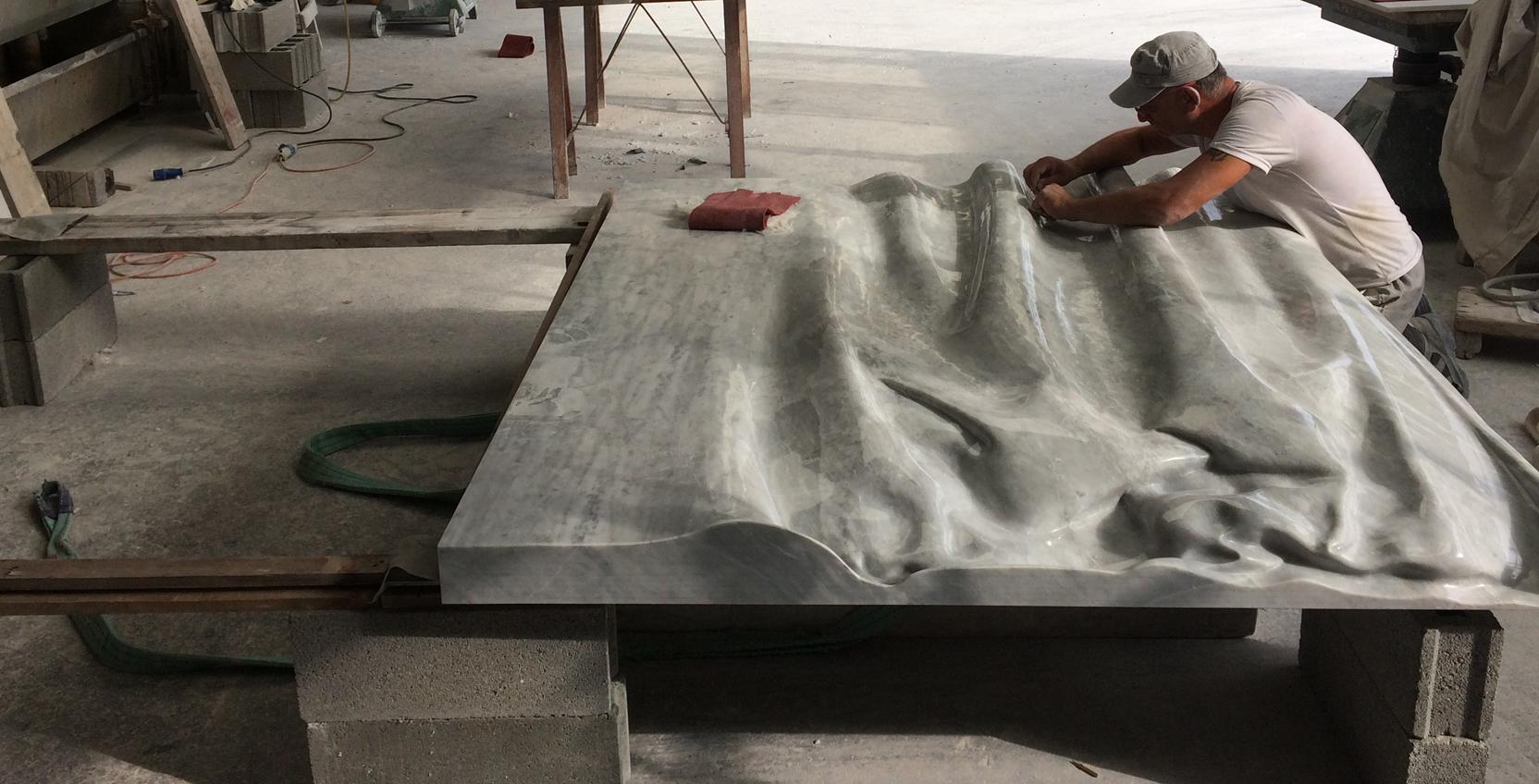 Lavorazione del marmo Pietrasanta Lucca Pera Luciano