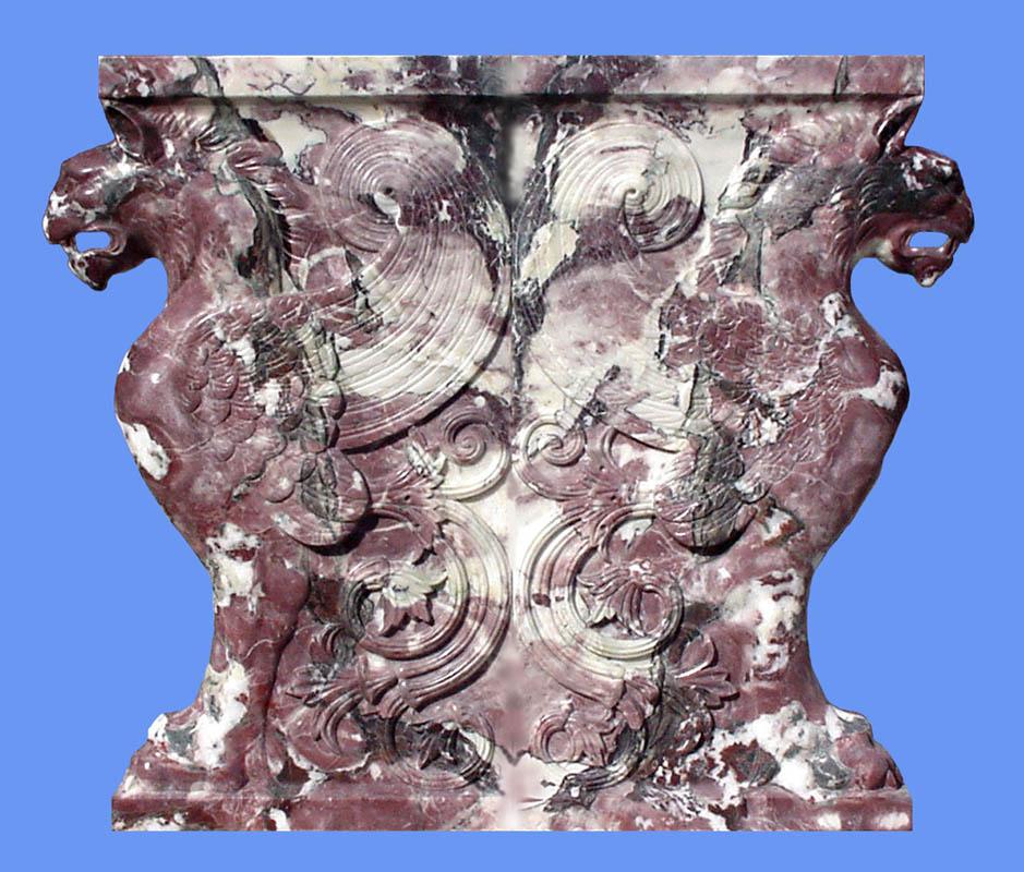 Capitello marmoreo Opere architettura marmo Pietrasanta Lucca