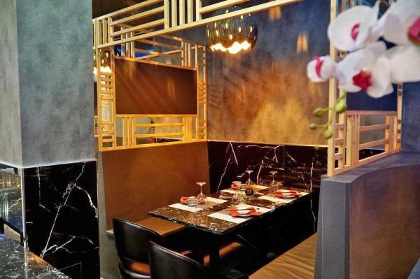 ristorante giapponese e asian fusion