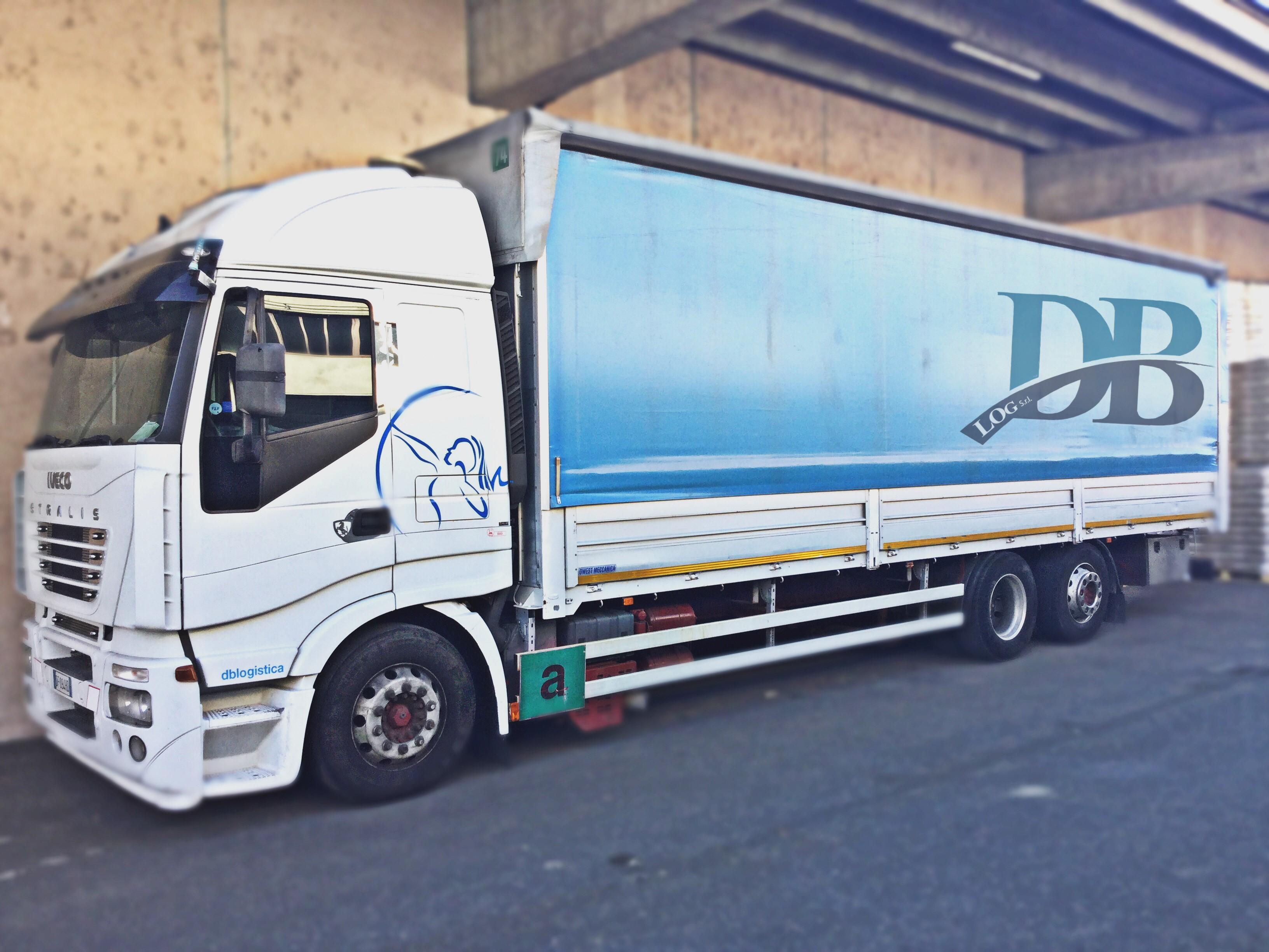 Transport logistics Turin DB LOG