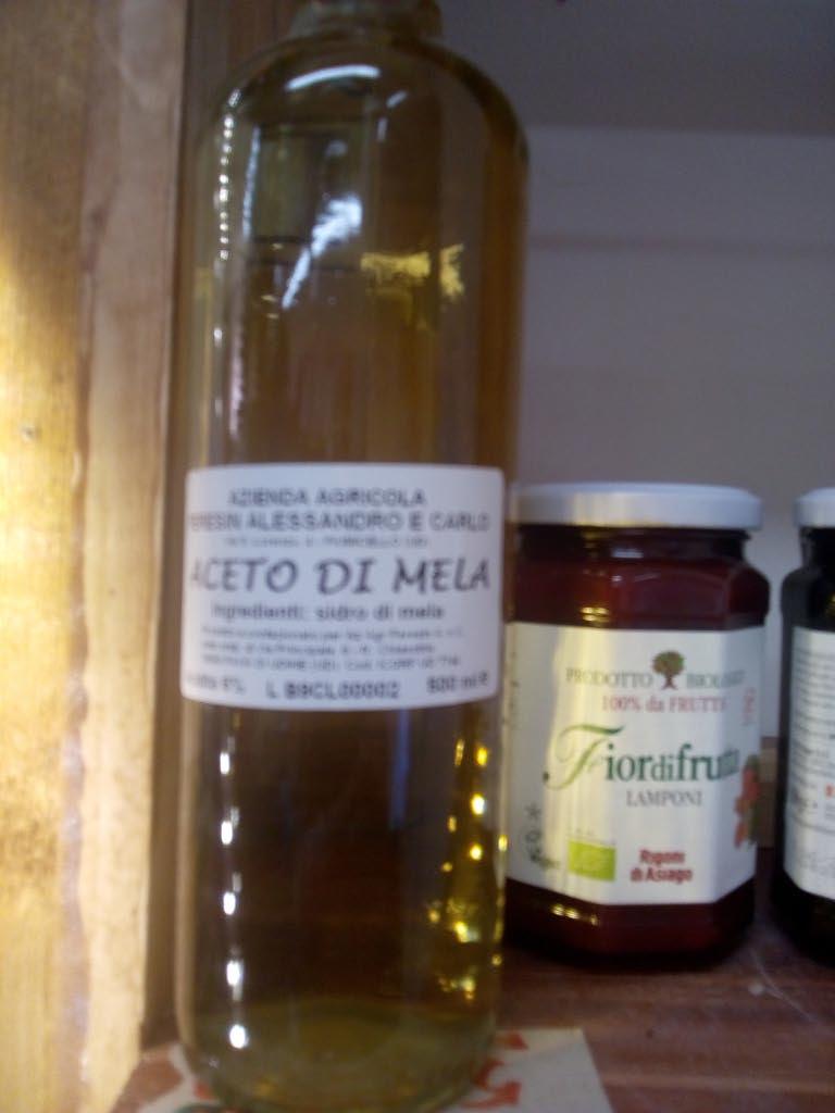 Aceto da mele biologiche a Muggia