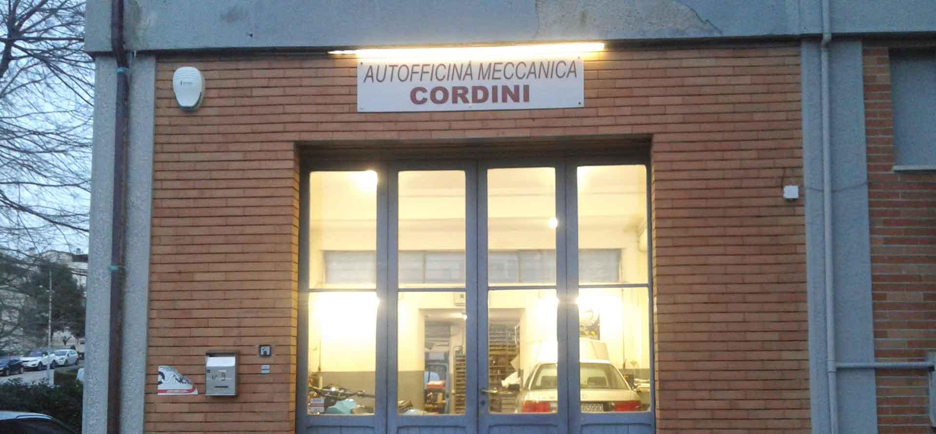 Officina gommista elettrauto Autofficina Cordini Endrio