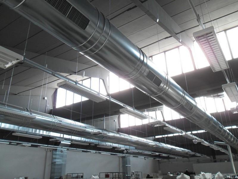 Tubi acciaio installazione impianti trattamento aria Zola Predosa Bologna