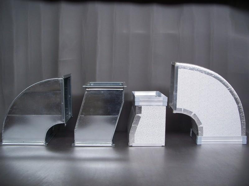 Tubi a gomito installazione impianti trattamento aria Zola Predosa Bologna