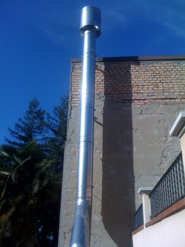 Tubo acciaio inossidabile installazione impianti trattamento aria Zola Predosa Bologna