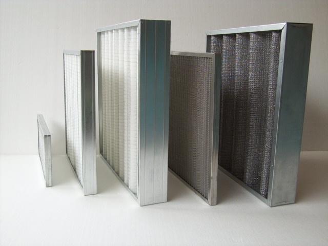 Filtro aria acciaio installazione impianti trattamento aria Zola Predosa Bologna