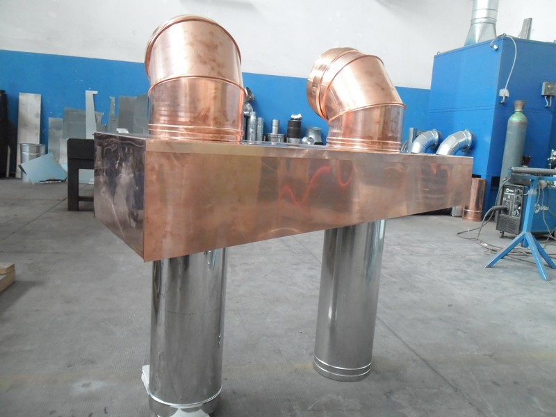 Tubi acciaio e rame installazione impianti trattamento aria Zola Predosa Bologna