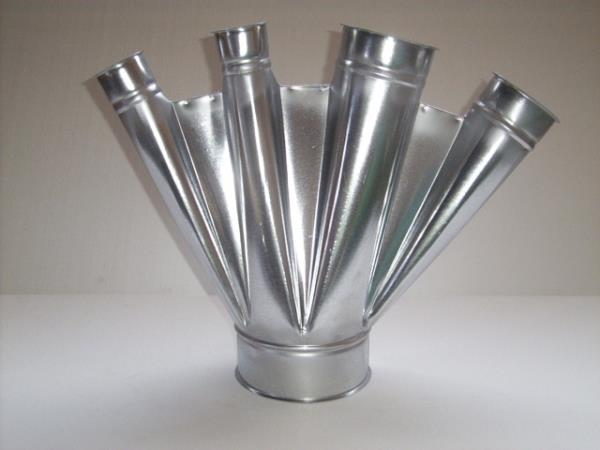 Pezzi acciaio impianti aria Installazione impianti trattamento aria