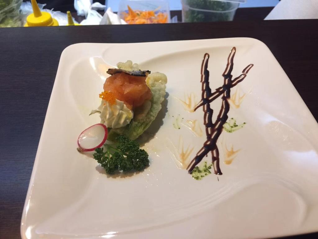 Sashimi cucina giapponese Città di Castello Perugia