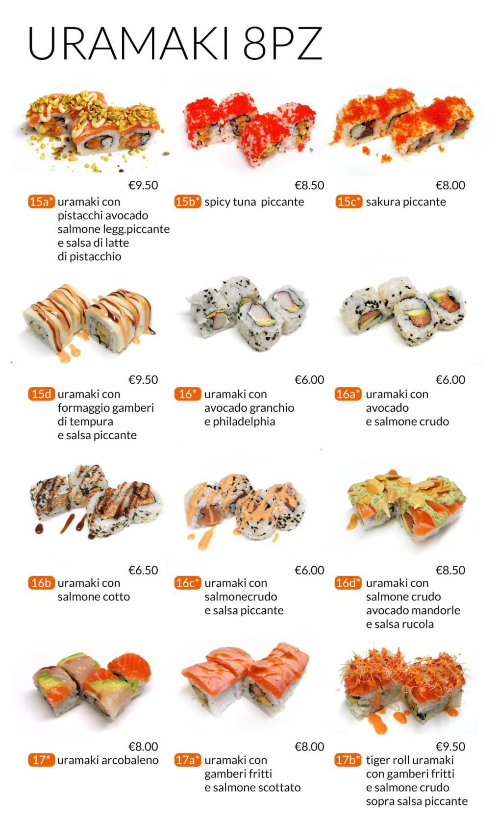 Uramaki All you can eat Città di Castello Perugia Zen Sushi & Asian Cuisine