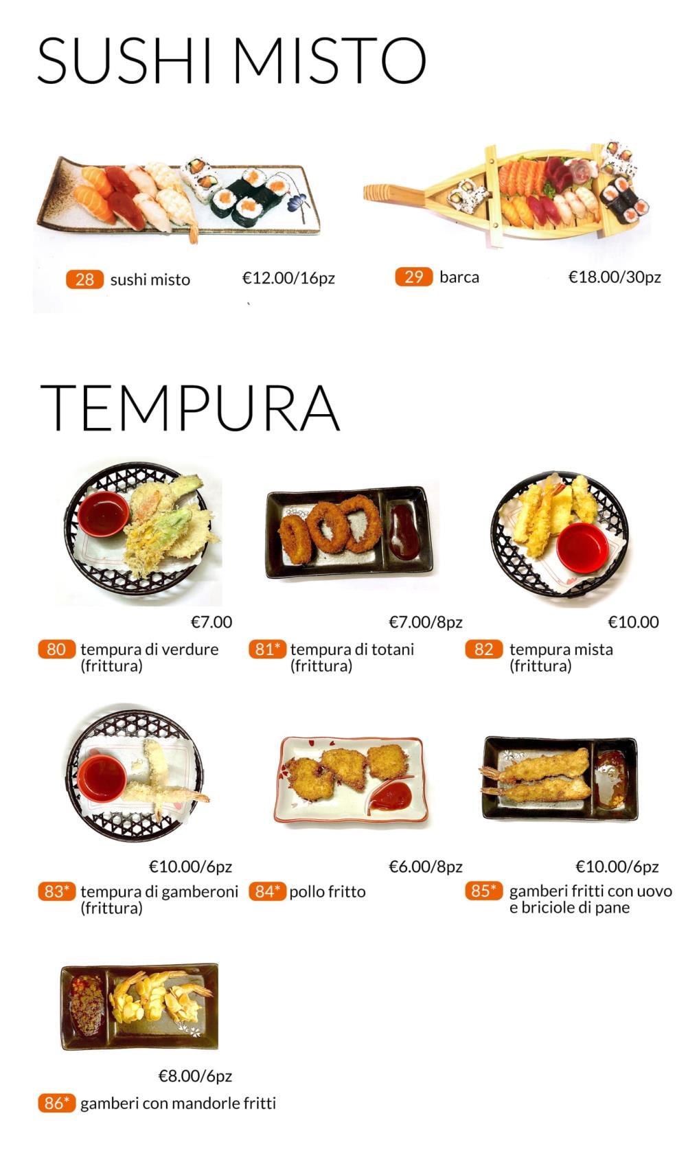 Sushi All you can eat Città di Castello Perugia Zen Sushi & Asian Cuisine