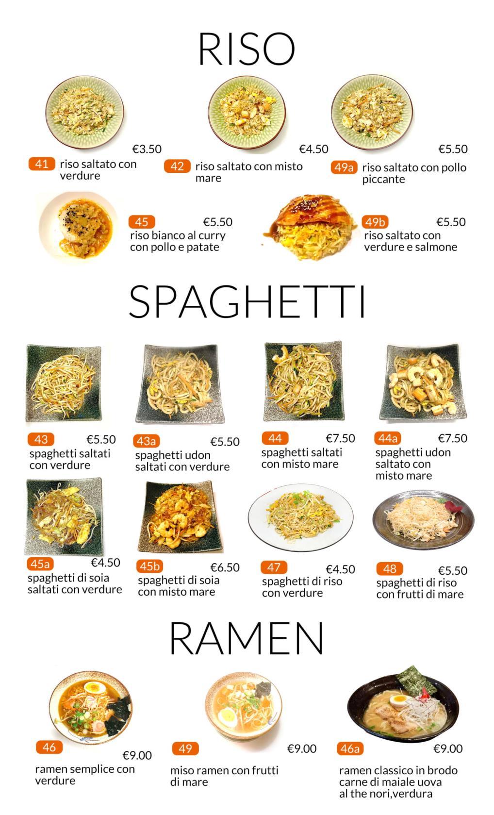 Riso e Spaghetti All you can eat Città di Castello Perugia Zen Sushi & Asian Cuisine