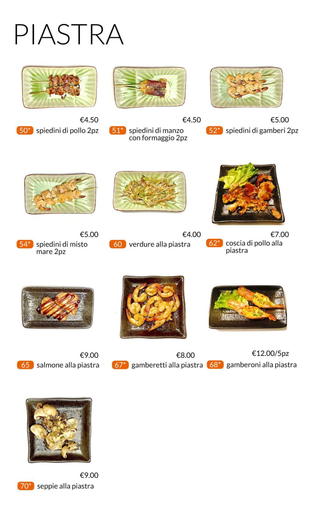 Piatti alla piastra All you can eat Città di Castello Perugia Zen Sushi & Asian Cuisine