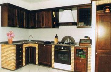 Cucine in muratura e legno lavorazione del marmo ad Acqualagna Pesaro Urbino