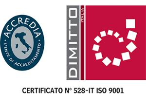 Certificato 528-IT ISO 9001