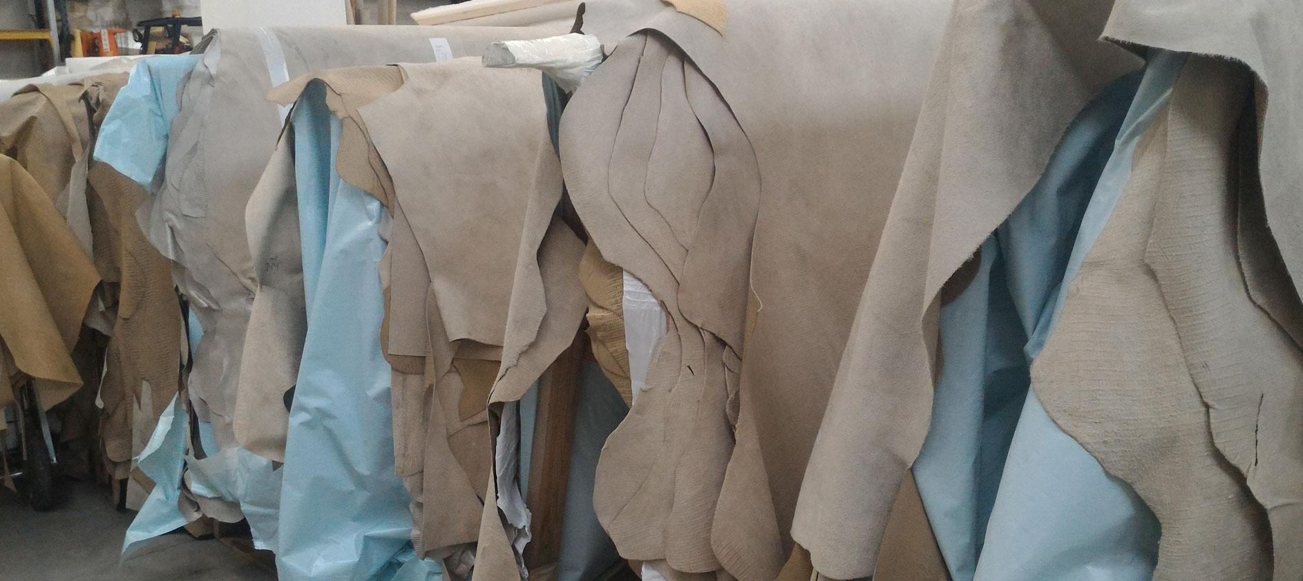 Canapè Forniture Rivestimento mobili in pelle e cuoio