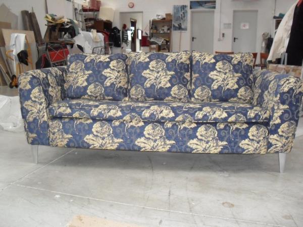 Rivestimento poltrone e divani in pelle Canapè Forniture