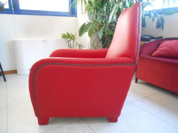 Chaise longue con imbottitura