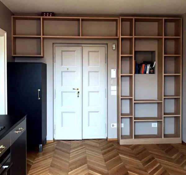 pareti porta libri brescia