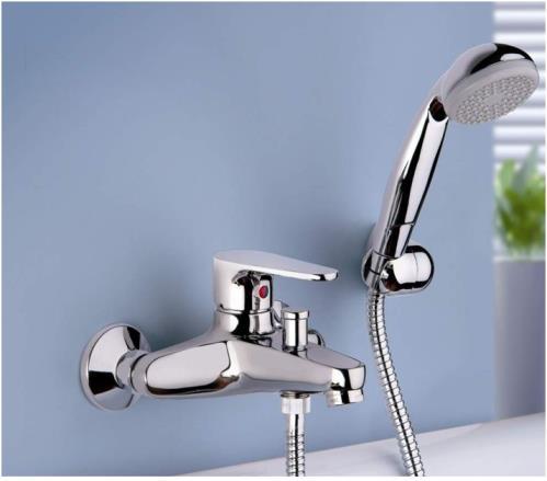 Monocomando esterno per vasca con doccia duplex