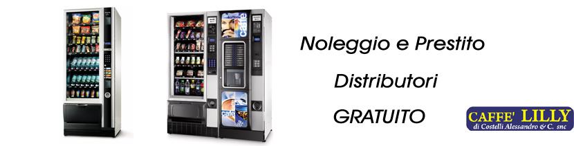 noleggio distributori automatici Bergamo