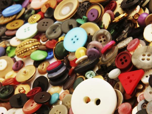 bottoni, fibbie e accessori per abbigliamento