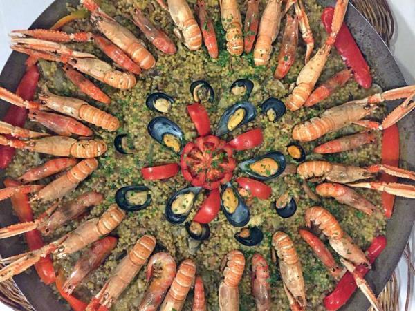 ristorante  paella algherese