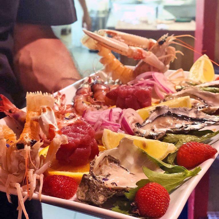 pesce fresco in tavola