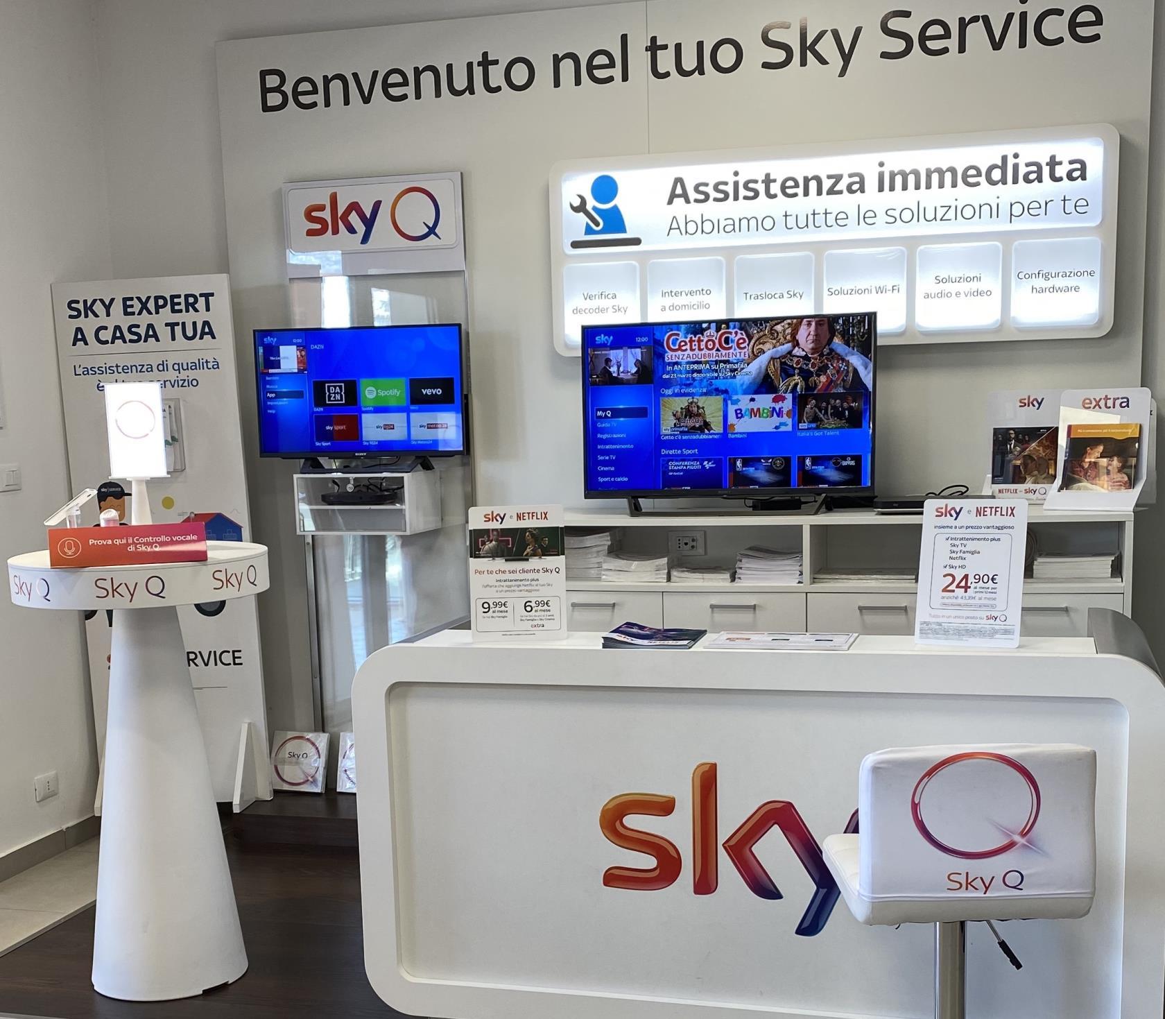Servizi Sky Q