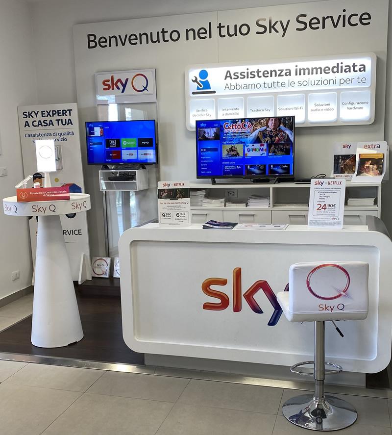 Centro Sky service e installatore autorizzato Sky Q Aconia Catanzaro