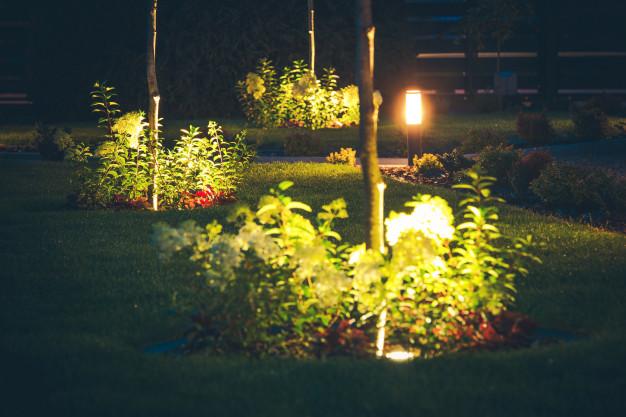 illuminazione  irrigazione giardini