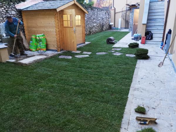 Lavori aree verdi e giardini