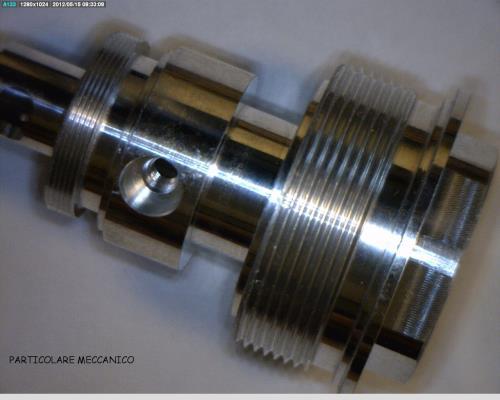 Produzione pezzi meccanici di precisione