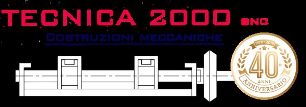 logo costruzioni meccaniche TECNICA 2000 - Monterenzio Bologna
