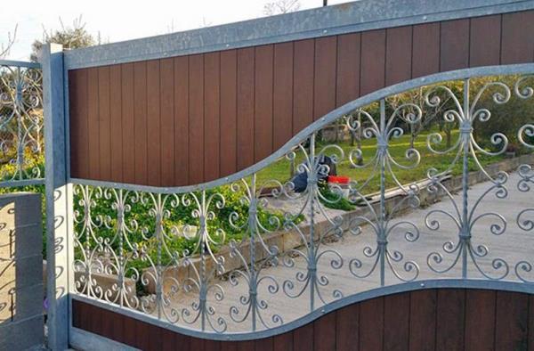 realizzazione recinzioni in ferro Sassari