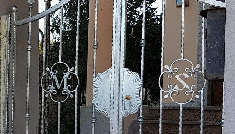realizzazione cancelli in ferro Sassari