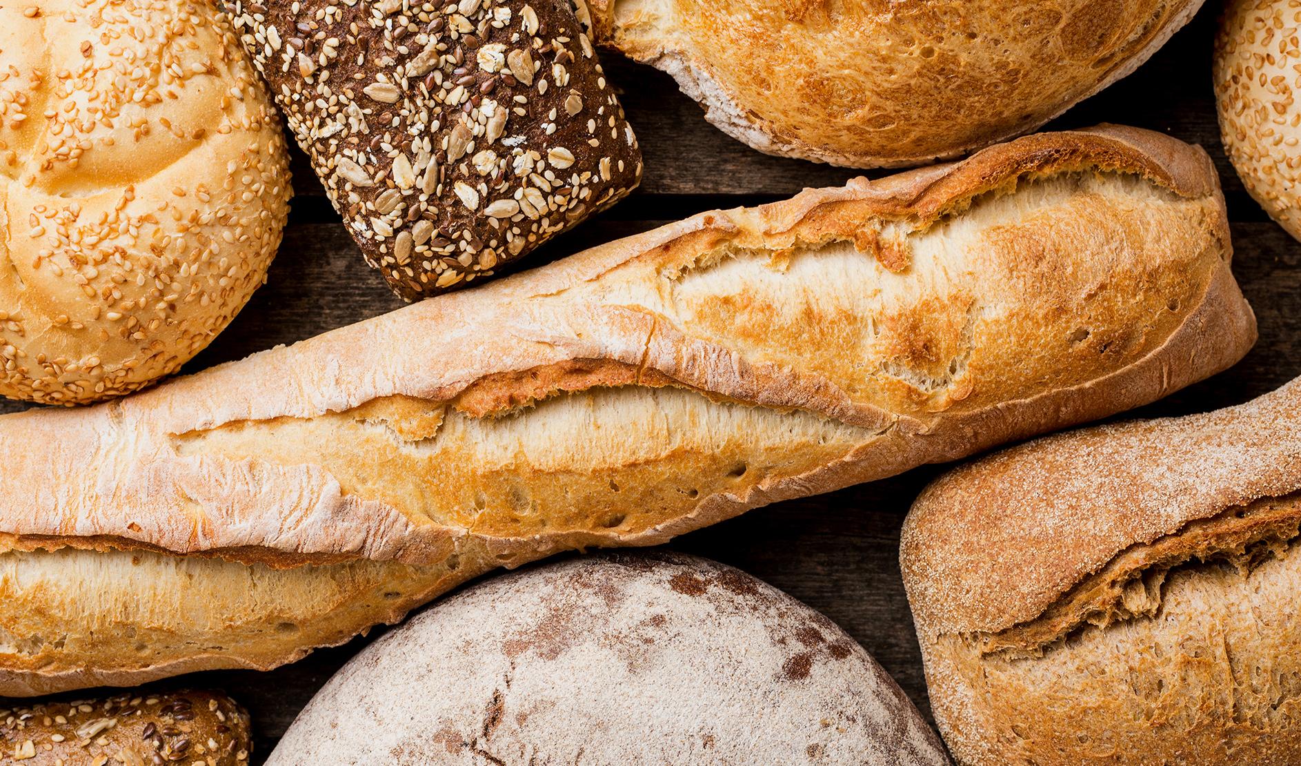 Produzione di pane caserreccio a Gubbio