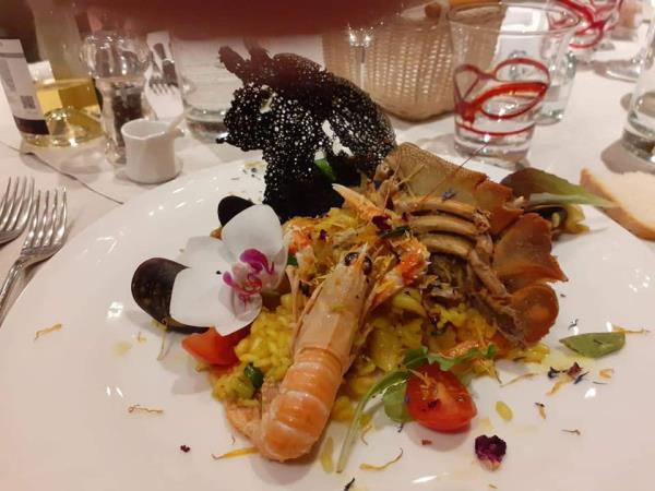 ristorante specialità pesce Gavorrano Grosseto