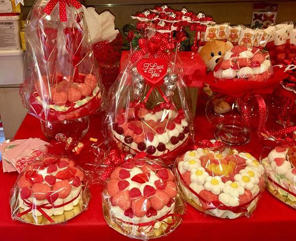 decorazioni torte di caramelle Albero delle Caramelle Torino Parella